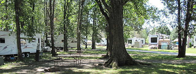 Family Campgrounds Rv Park Lake Shelbyville Illinois