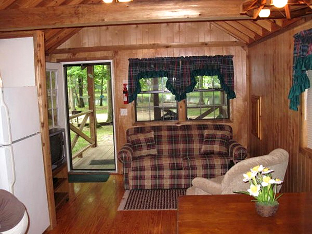 Shelbyville Cabin Rentals Campground RV Park Robin Hood Woods