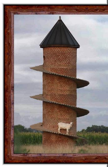 Shelbyville Goat Tower