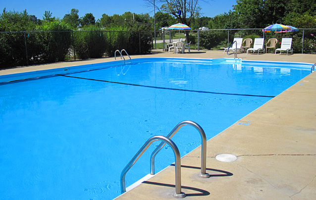 Illinois family campground rv park resort swimming pool Campsites in poole with swimming pool