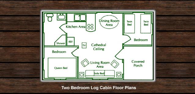 Two bedroom cabin with loft plans joy studio design for 16x40 floor plans
